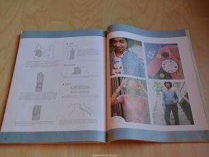 Histoires de Couture - De Rocha jas (LMV) : Constructie en inzetten van de insteekzakken met bies en beleg.